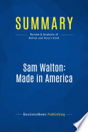 Summary  Sam Walton  Made In America
