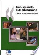Uno sguardo sull educazione  Gli indicatori OCSE 2007