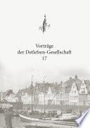 Vorträge der Detlefsen-Gesellschaft 17