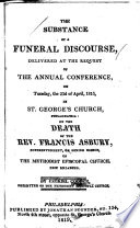 The Substance of a Funeral Discourse