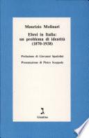 Ebrei in Italia