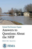 Answers to Questions about the National Flood Insurance Program  FEMA F 084   March 2011