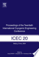 Proceedings Of The Twentieth International Cryogenic Engineering Conference Icec20  book