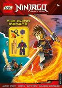 LEGO Ninjago  The Djinn Menace  Activity Book with Minifigur