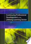 Continuing Professional Development In The Lifelong Learning Sector