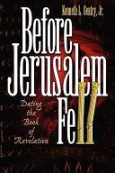 Before Jerusalem Fell