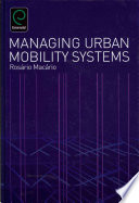 Managing Urban Mobility Systems book