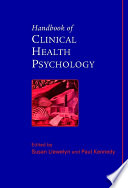 Handbook Of Clinical Health Psychology : of the practice of clinical...