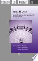 PHealth 2014 : devices, and innovative sensor and actuator...
