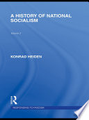 A History of National Socialism  RLE Responding to Fascism