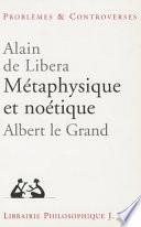 illustration du livre Métaphysique et noétique