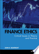 Finance Ethics