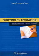 Writing for Litigation
