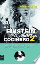 Lo que Einstein le cont   a su cocinero