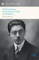 World Literature and Hedayat's Poetics of Modernity