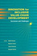 Innovation for inclusive value-chain development