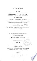 Sketches of the history of man