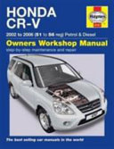 Honda CR V Owners Workshop Manual