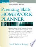 Parenting Skills Homework Planner