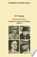 Britain And Vichy : ...