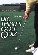 Dr  Thiru s Golf Quiz
