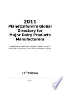 PlanetInform s Global Directory for Major Dairy Products Manufacturers
