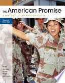 The American Promise  Volume II  Since 1865