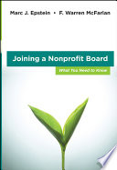 Joining a Nonprofit Board