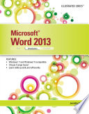 Microsoft Word 2013  Illustrated Introductory