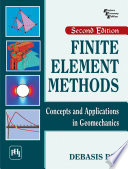 Finite Element Methods   Concepts and Applications in Geomechanics