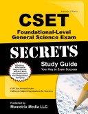 CSET Foundational Level General Science Exam Secrets Study Guide