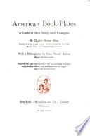 American Book-plates