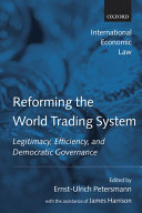 Reforming the world trading system