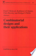 Combinatorial Designs and their Applications