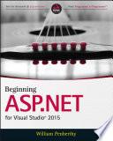Beginning ASP NET for Visual Studio 2015