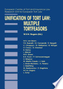 Unification of Tort Law: Multiple Tortfeasors