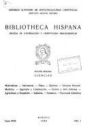 Bibliotheca Hispana Revista De Informaci N Y Orientaci N Bibliogr Ficas Secci N 2