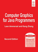 Computer Graphics For Java Programmers 2nd Ed