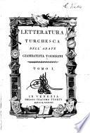 Letteratura turchesca  Studi de Turchi