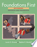 Supplemental Exercises for Foundations First with Readings