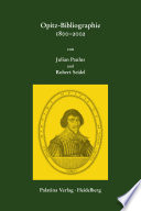 Opitz-Bibliographie 1800–2002