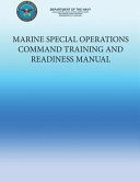 Marine Special Operations Command Training And Readiness Manual