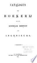 Catalogus der boekerij