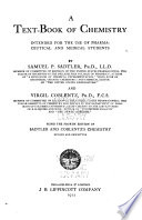 A text book of chemistry intended for the use of pharmaceutical and medical students