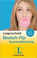 Langenscheidt, Deutsch-Flip - Grammatiktraining