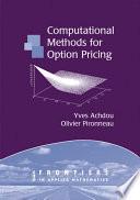 Computational Methods for Option Pricing