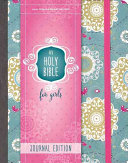 NIV Holy Bible for Girls  Journal Edition  Hardcover  Turquoise  Elastic Closure