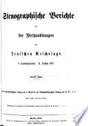 Verhandlungen des Reichstages