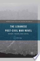 The Lebanese Post Civil War Novel