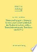 Untersuchung abhängig komplexer Konstruktionen im Turkmenischen mittels Tesnières Translationstheorie und DVG